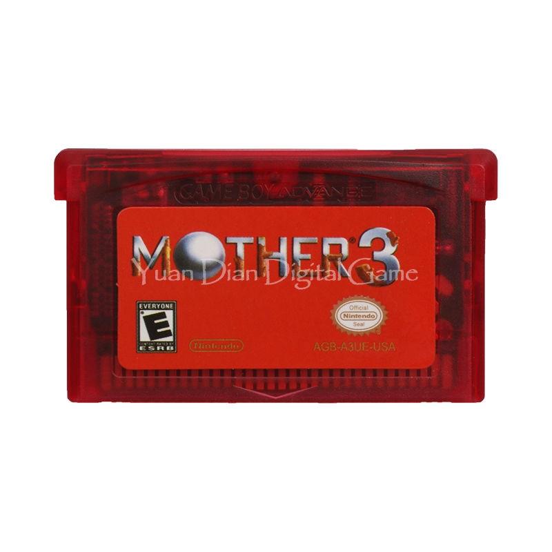 Nintendo GBA Video Game Cartridge Console Card Mother 3 English Language Version rpg game cartridge final fantasy iv 4 usa version save file english language with real metal screws