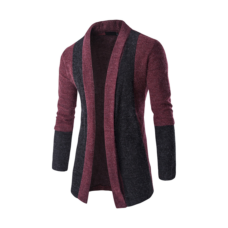 MRMT 2019 Brand New Men's Jackets Casual Splicing Cardigan Sweater Knitwear Overcoat For Male Sweater Jacket Clothing