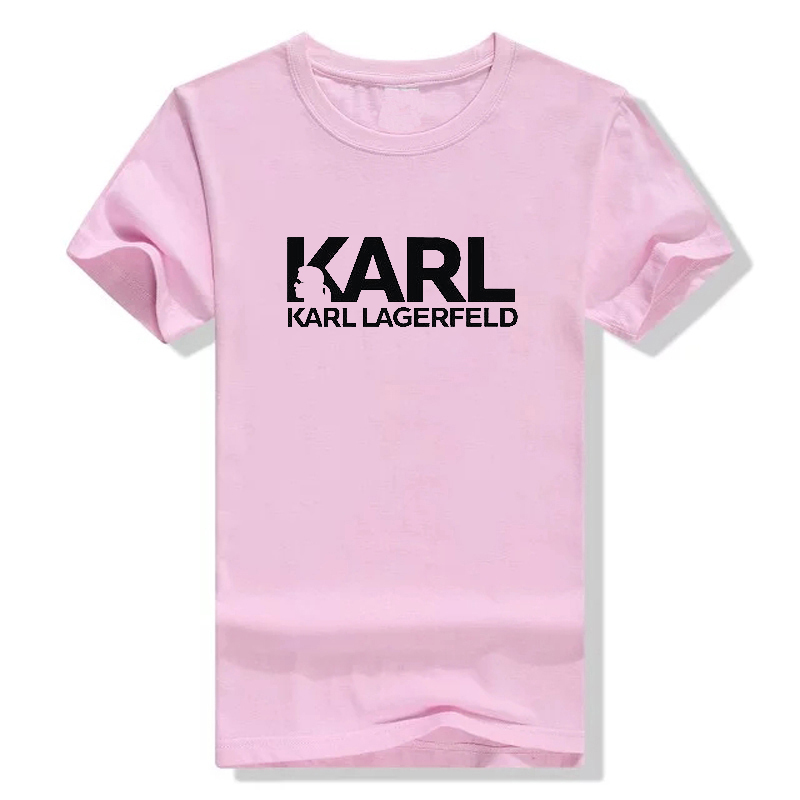 Karl Lagerfeld T Shirt Women Unisex Summer 2019 Vogue Short Sleeve Funny T Shirts Harajuku Tumblr Karl Who Tshirt Femme