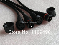 5 Sets Pairs Outdoor LED Light Strips 2 Pins Male And Female Card Waterproof Connector Cable