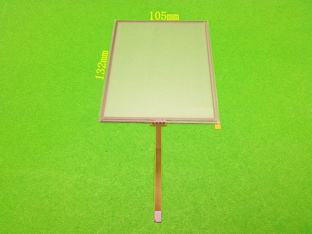 wholesale New 5.7 inch 132mm*105mm 4 wire Resistive Touch Screen Panel for 132*105mm Touch screen digitizer panel free shipping 2017 new arrival fashion high quality brass material gold rose gold finished bathroom sink faucet basin faucet tap mixer