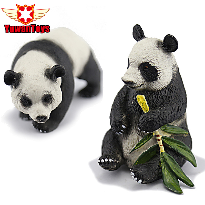 Classic Toys Giant Panda Simulation Model Of Animal Dolls Plastic Toys Furnishing Articles Wildlife Forest Animal Model Of Gifts