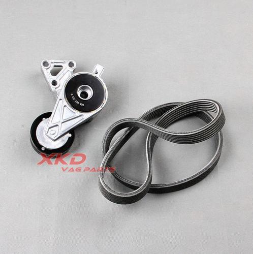 2pcs V Ribbed Belt Tensioner Kit For V W Bora J etta Golf Beetle Caddy AU