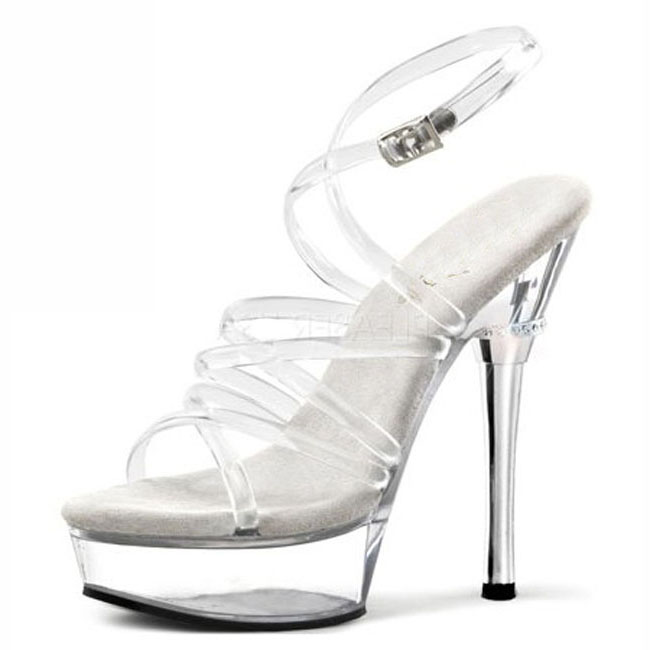 In the summer, the new high heels and white transparent women's shoes match the 14cm high heels and sandals. the meadow vale ponies mulberry and the summer show