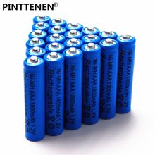 2018 New AAA battery 1800 mAh Rechargeable battery NI-MH 1.2 V AAA battery for Clocks, mice, computers, toys soon(China)
