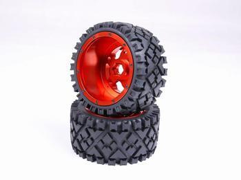 Запчасти для автомобилей с ЧПУ, 1/5 RC, комплект шин baja Rovan rc Strong 5B baha, полный рельсовый комплект шин с ступицами из сплава CNC, 170X80