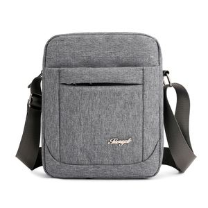 Solid Flap Bag College style Nylon Messe