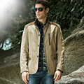 Hot new men's jacket collar men's casual cotton jacket coat big yards