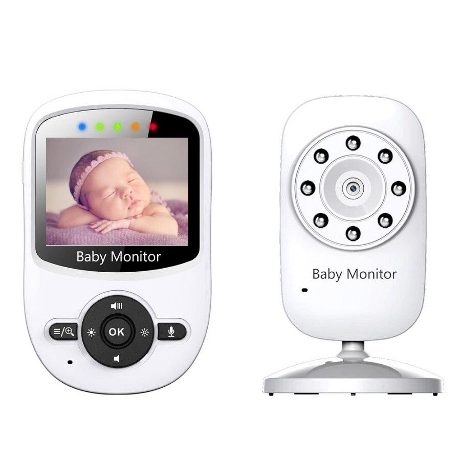 babykam babyfoon camera video nanny 2.4 inch IR Night vision 2 way Talk Temperature Monitor Lullabies 2X Zoom baby camera nanny