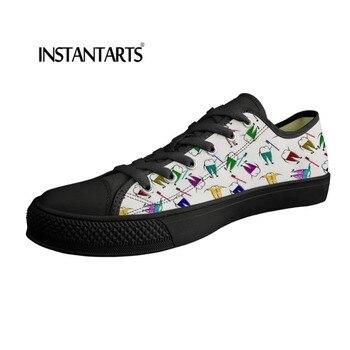 60779d31 Zapatos instantáneos + zapatos planos de lona para hombre, zapatillas de  dibujos animados para dentista, vulcanizados zapatos de hombre, zapatillas  casuales ...