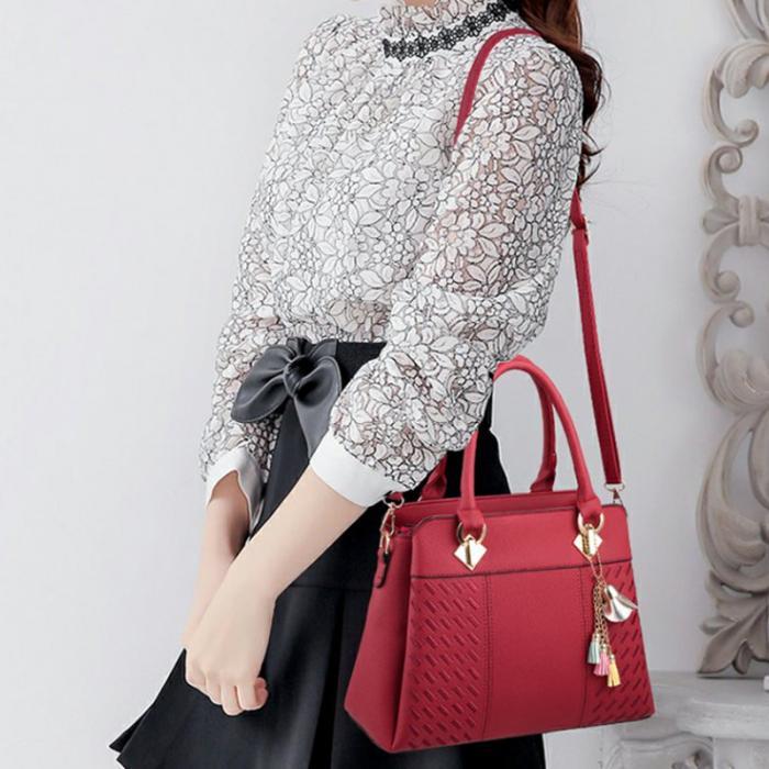 Female Crossbody Bags Womens Purses Handbags Ladies Designer Satchel Tote Bag Minimalist Best Sale- Popular