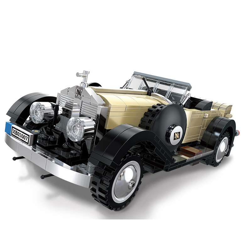 Technic Supercar Rolls-Royce Convertible Building Blocks Sets Bricks Classic City Model Kids Gift Toys Compatible Legoings