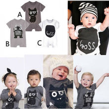3-24M Monster Baby Romper