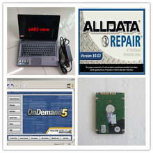 alldata 10.53 2018 installed version alldata mitchell on demand 2in1 with laptop z485 ram 4g hdd 1tb win7 ready to use