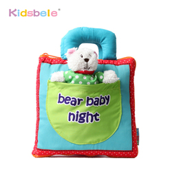 Early Learning Educational Toys Soft Book Dear Baby Night Quiet Book Para Bebe Toys For Newborns Coordination Cognitive Book