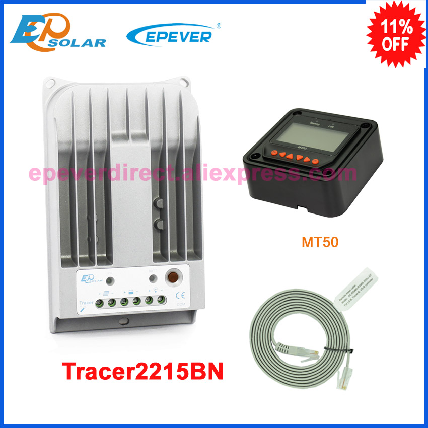 New Tracer 2215BN 20amps Programmable MPPT Solar Charge Controller with MT50 LCD displayNew Tracer 2215BN 20amps Programmable MPPT Solar Charge Controller with MT50 LCD display