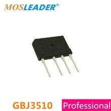 Mosleader DIP4 GBJ3510 GBJ 100 יחידות 3510 35A 1KV 1000 v באיכות גבוהה