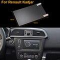Стайлинга автомобилей 7 Дюймов GPS Навигации Экран Стали Защитная Пленка Для Renault Kadjar Управления ЖК-Экран Автомобиля Стикер