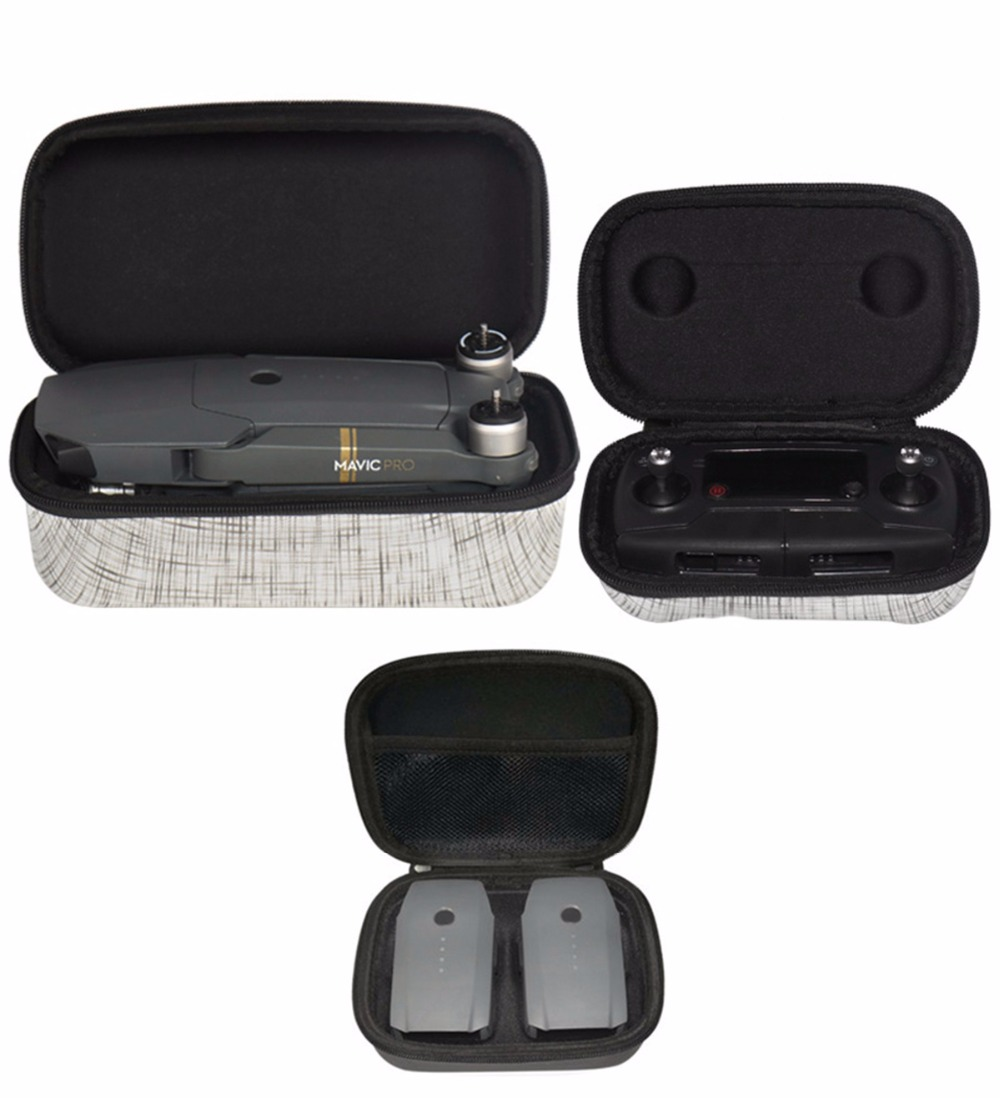 Drone Remote Controller Storage Box Carrying Case Battery Safe Box for DJI font b Mavic b