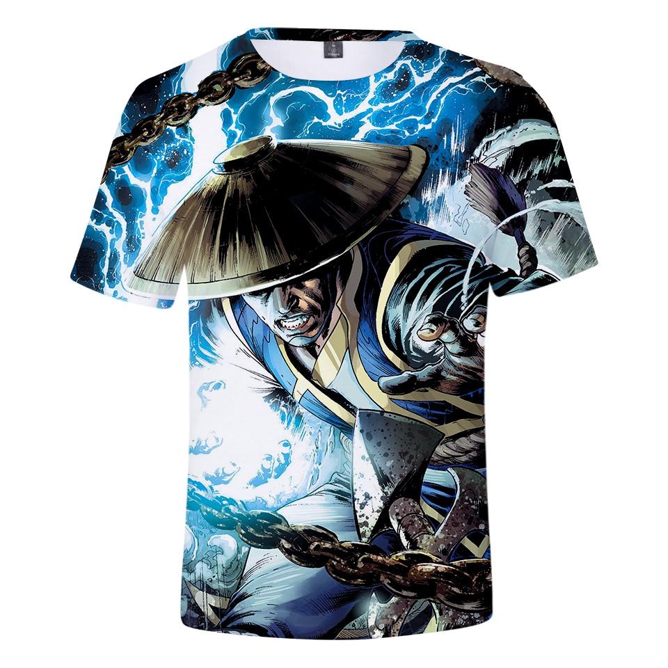 Summer 2019 Trend 3d   T     Shirt   Mortal Kombat 11 Short Sleeve Summer   Shirt   Men Graphic Tees Men/Women Harajuku Tops Plus Size