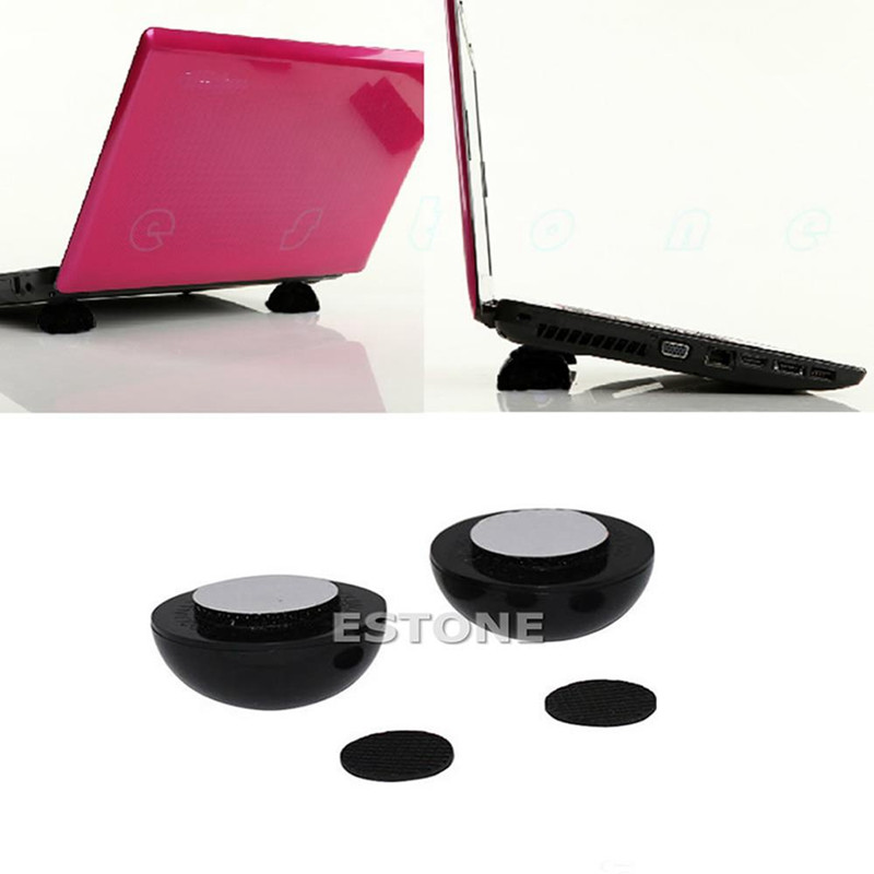 Deek-Robot NEW Laptop Notebook Cool Ball Cooler Stand + Skidproof Pad Cretive Cooling Bracket High Quality ...