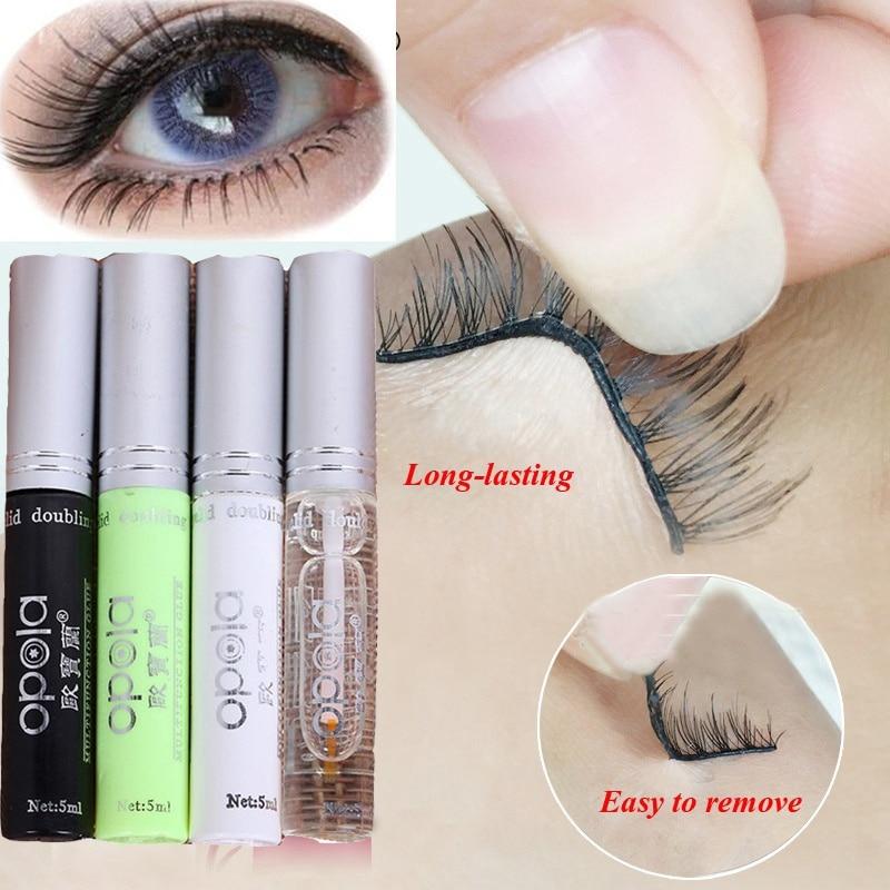 4 Colors Professional Quick Dry Eyelashes Glue False Eyelash Extension Grafting Adhesive Double Eyelid Eyes Beauty Makeup Tools