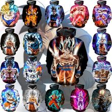 New Dragon Ball Animation 3D Print Hoodie/Sweatshirt Unisex Good Quality Pullover Oversize 5XL Streetwwear Hoodies Men