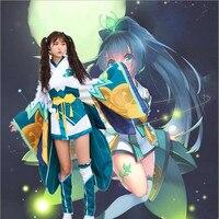 Nouvelle Mode Chaude Sang femmes Japonais Kimono Cosplay Lolita Anime Maid Uniforme Outfit Costume Robe À La Mode Anime Cosplay