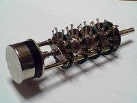 2 шт./лот TOCOS потенциометра переключатель диапазонов, RV3YN102 нож, 6 файлов, двойной вал