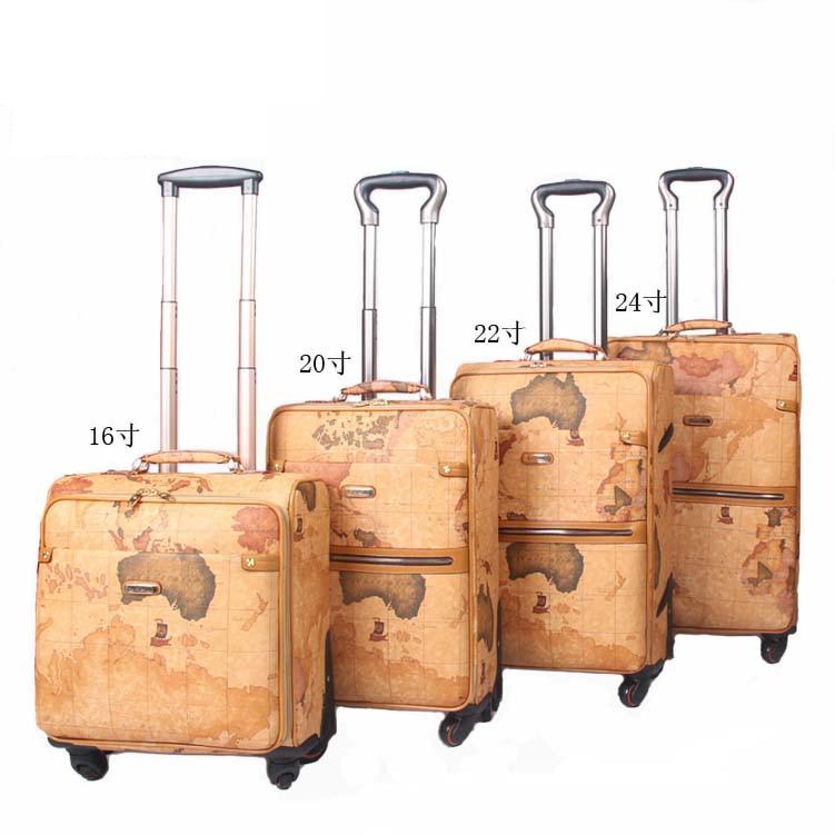 Aliexpress.com : Buy PU suitcase luggage women & men's travel bags ...