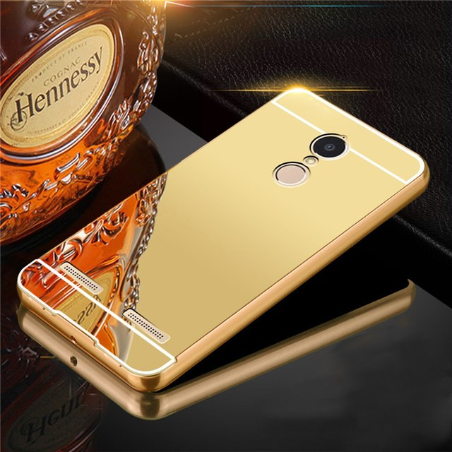 finest selection 3ffd8 1eeab US $4.3 |Case For Lenovo Vibe K6 Power K33a42 Back Cover Cover Metal  Aluminum Alloy Frame Case With Mirror Back PC Cover-in Fitted Cases from ...
