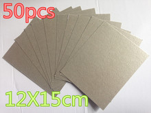 50pcs  12*15cm Spare parts for microwave ovens mica microwave mica sheets General midea Galanz LG Etc.  цена и фото
