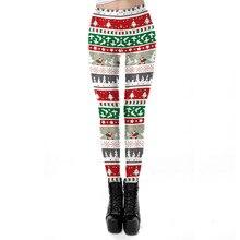 Red White Striped Christmas Leggings