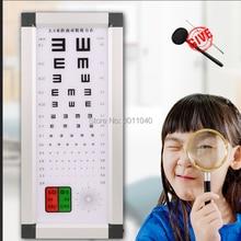 2,5 м Китай лучшее качество E диаграмма остроты зрения светодиодный светильник источник логарифмическая диаграмма остроты зрения оптометрическое оборудование