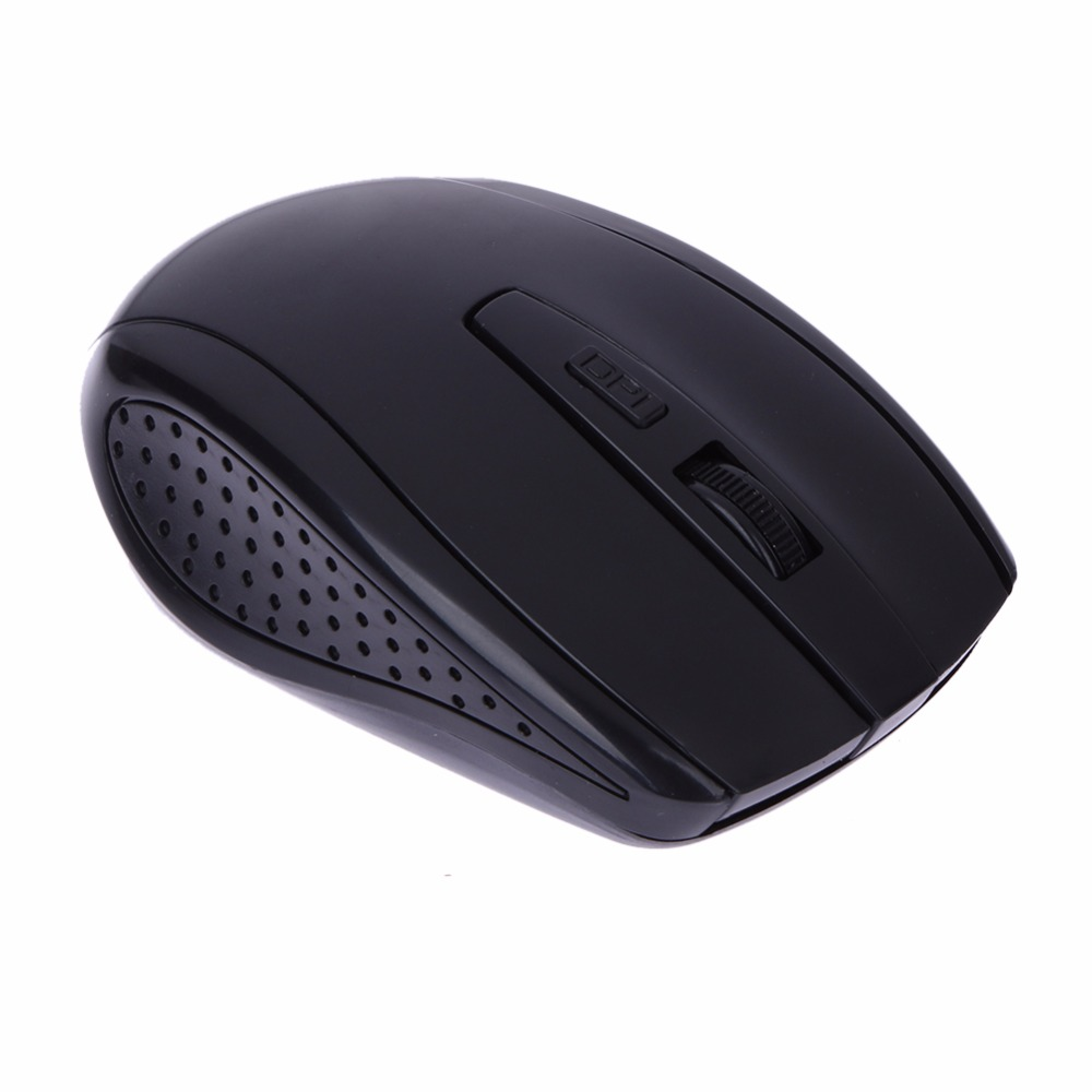 2.4GHz Wireless Mouse 6 Buttons USB Wireless Gaming Mouse 2400 DPI Adjustable Optical Computer Mice Game for PC Laptop
