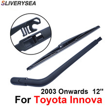 SLIVERYSEA Rear Windscreen Wiper and Arm For Toyota Innova 2003 Onwards 12'' 4 door SUV High Quality Iso9000 Natural Rubber
