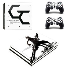 Guilty Crown Vinyl Cover Decal PS4 Pro Skin Sticker for Sony PlayStation 4  Pro Console 2 99eeac95b9b