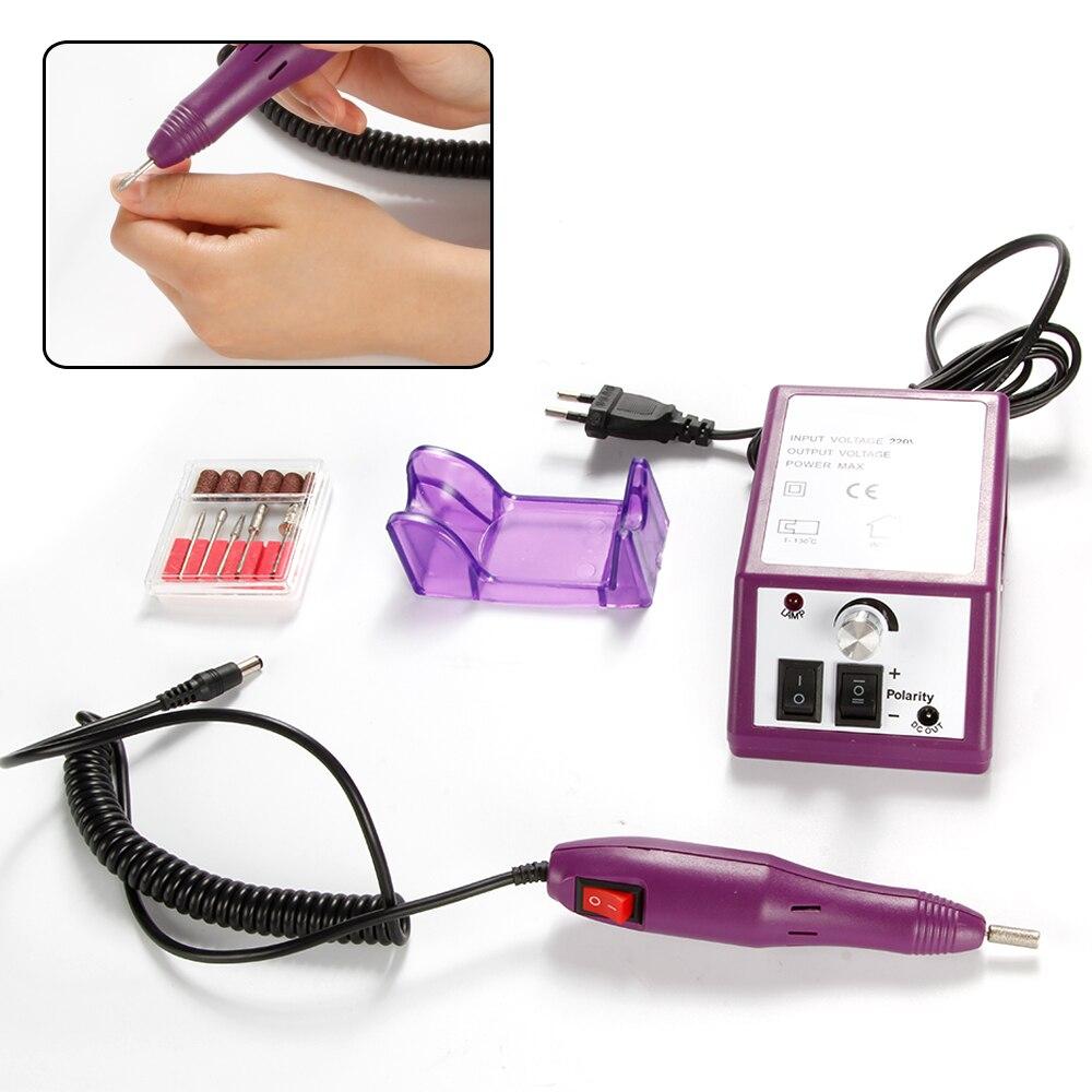 20000 rpm Électrique Manucure Fraisage Machine Nail Forets Manucure Pédicure Cuticules Acrylique Gel Remover Polonais Outil Nail Art