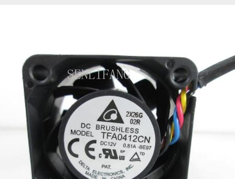 Free Delivery.4028 4CM Switch Fan 12V 0.81A TFA0412CN Large Air Volume Fan One Year Warranty