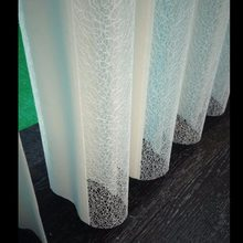 Customize Lace Sheer Vertical Blinds Curtain Made to Measure Manual or Motorized Finished Product(China)