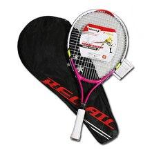 Детская Спортивная Теннисная ракетка из алюминиевого сплава с полиуретановой ручкой YA88