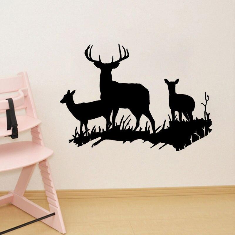 Deer Vinyl Wall Decal