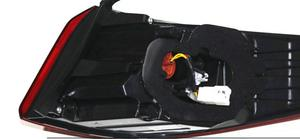 Image 3 - 1pcs 2015~2017year tail light for Hyundai sonata  taillight car accessories LED DRL Taillamp for sonata fog light