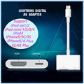 New Brand 100% Original Genuine Light to AV HDMI/HDTV TV Digital Cable Adapter For iphone 5 5S 6 6s For ipad5 For iphone 7