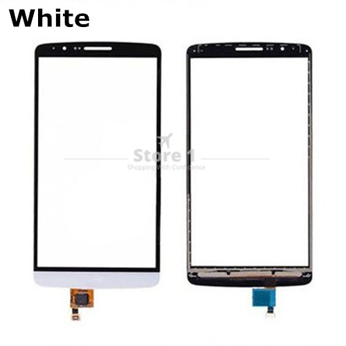 for LG G3S Premium Touch Screen Glass Panel Digitizer Connector Touchscreen Replacement Parts for LG G3