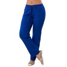 Women's Plus Size Elastic Waistband String Sport Pants