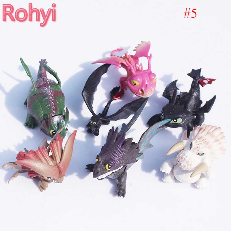 10 estilos 9 polegada 23 centímetros Como Treinar O Seu Dragão Desdentado Fúria Desdentado Brinquedos figura de Ação de Luz Para As Crianças presentes de Aniversário