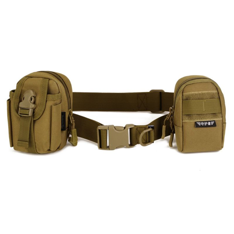Simple Tactical Belt Equipment Wear Bag Riding Inside Nylon Bag Deputy Military Fans Belts Fastening Tape