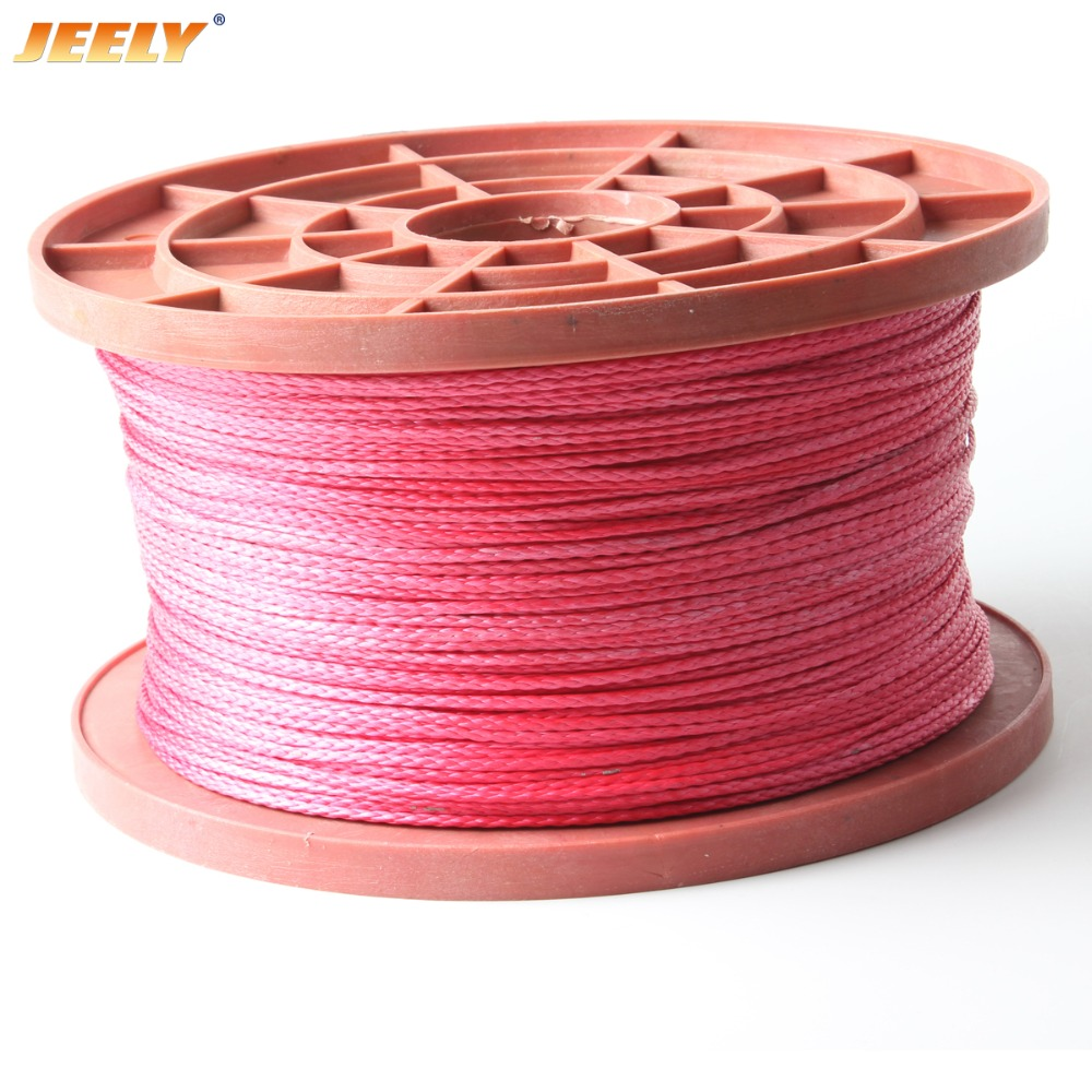 Free Shipping 10M 1.5mm 8weaves 210KG  Spectra Towing Line