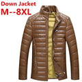 8XL 7XL 6XL Stylish Winter Ultra Light Duck Down Jacket Men Long Punk New Brand Slim Fit And Coats Parka Casual free delivery